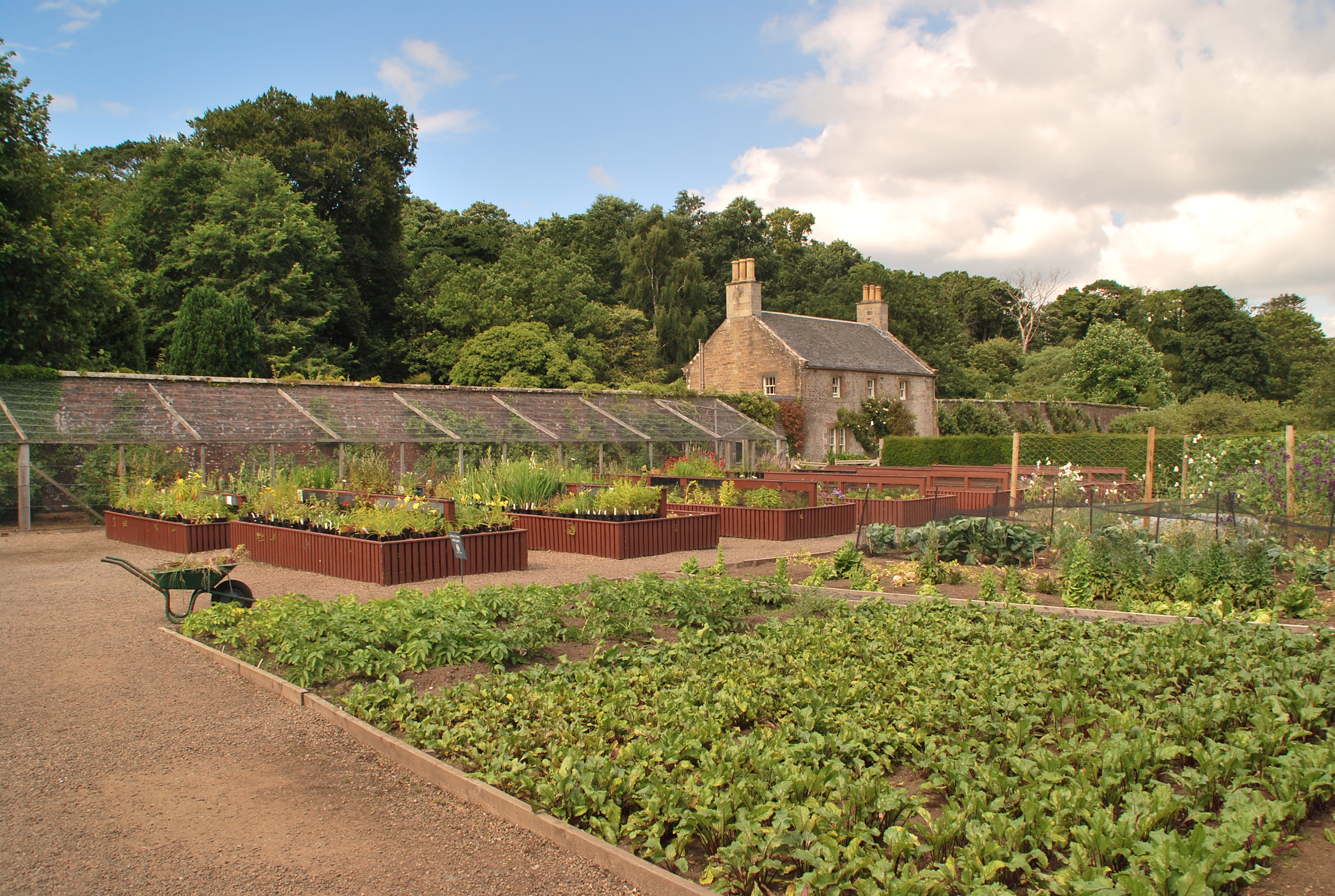 Walled Kitchen Gardens Culzean Castle And Country Park The Garden Gallery